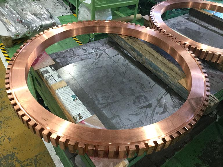 無酸素銅C1020加工 φ1100